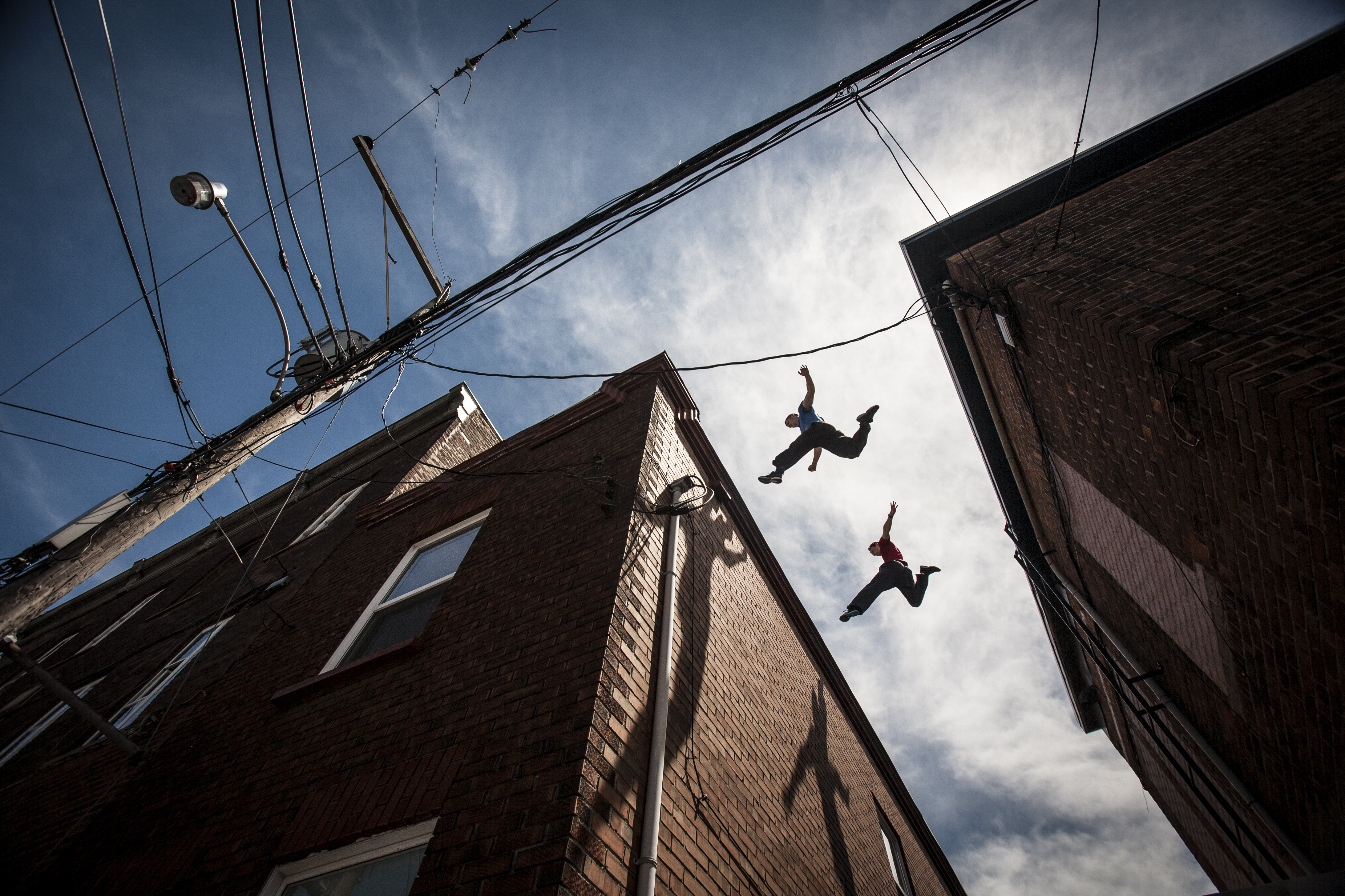 Parkour Photography Exhibition Now On Display At The